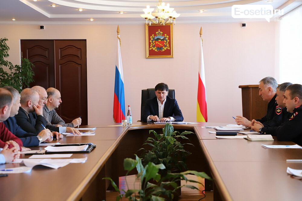 Безопасность дорожного движения обсудили в администрации Владикавказа, фото-1