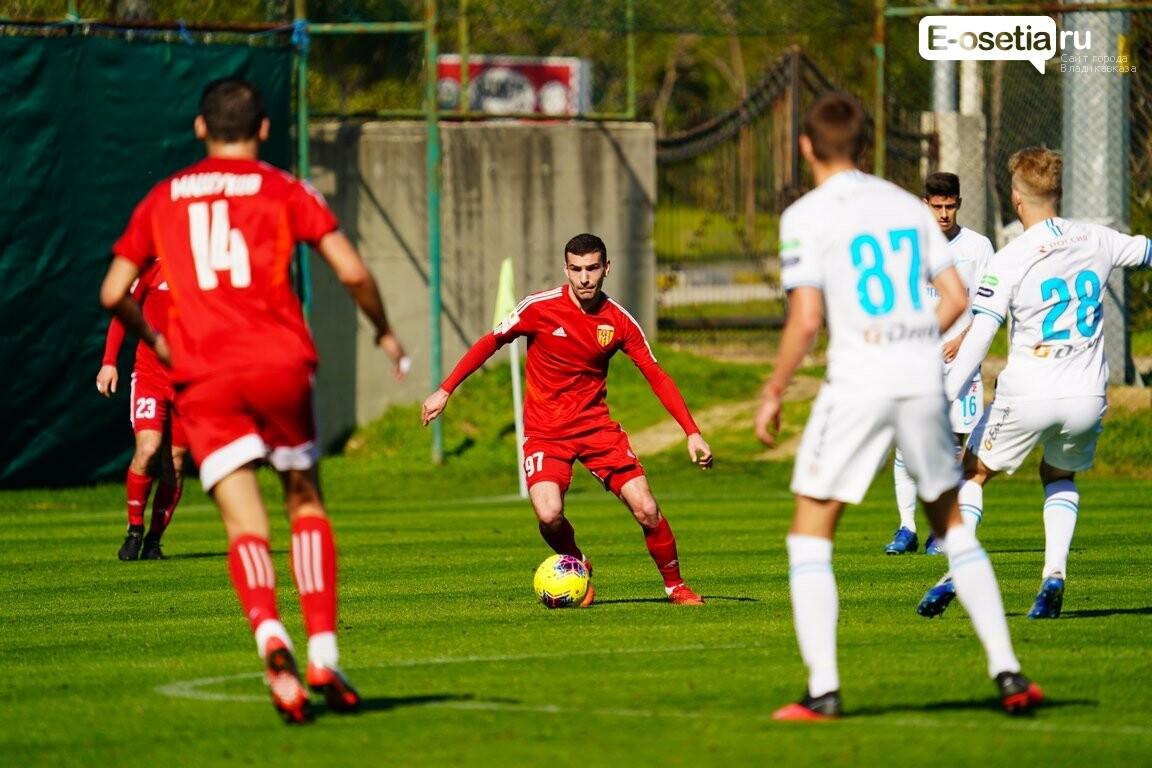 ФК «Алания Владикавказ» сыграл два контрольных матча в Турции, фото-1