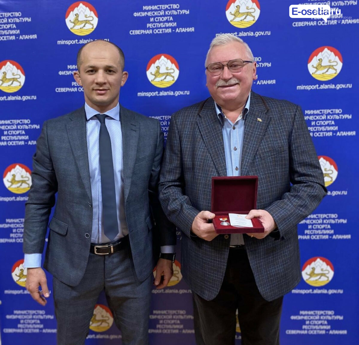 Владимир Куликов, Владимир Куликов удостоен медали «Во Славу Осетии»