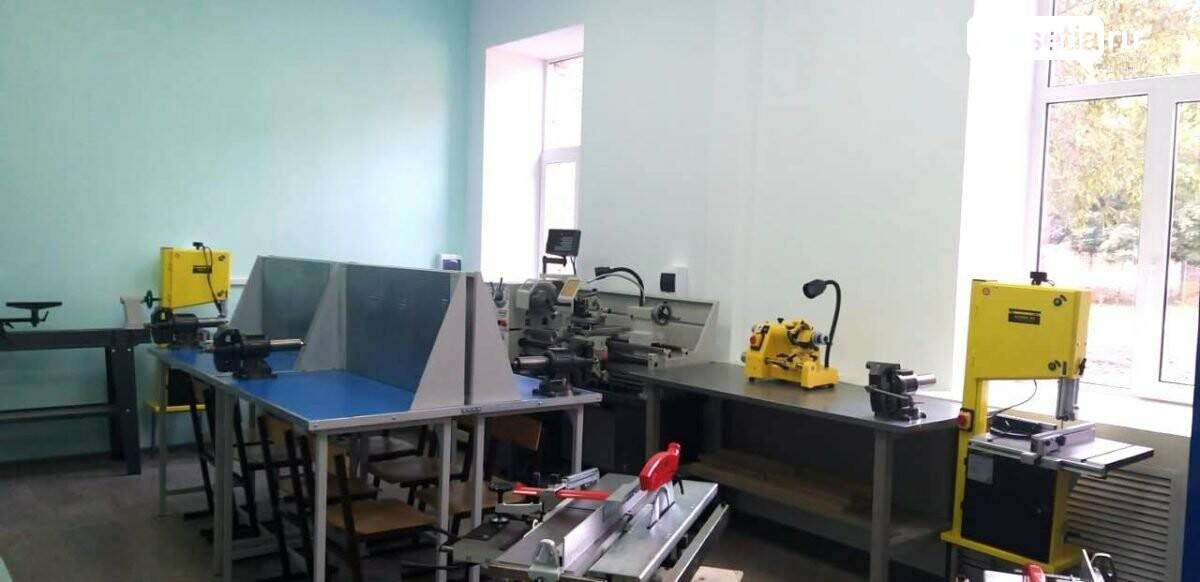 новые мастерские в школе Моздока, В коррекционной школе-интернате Моздока появились новые мастерские