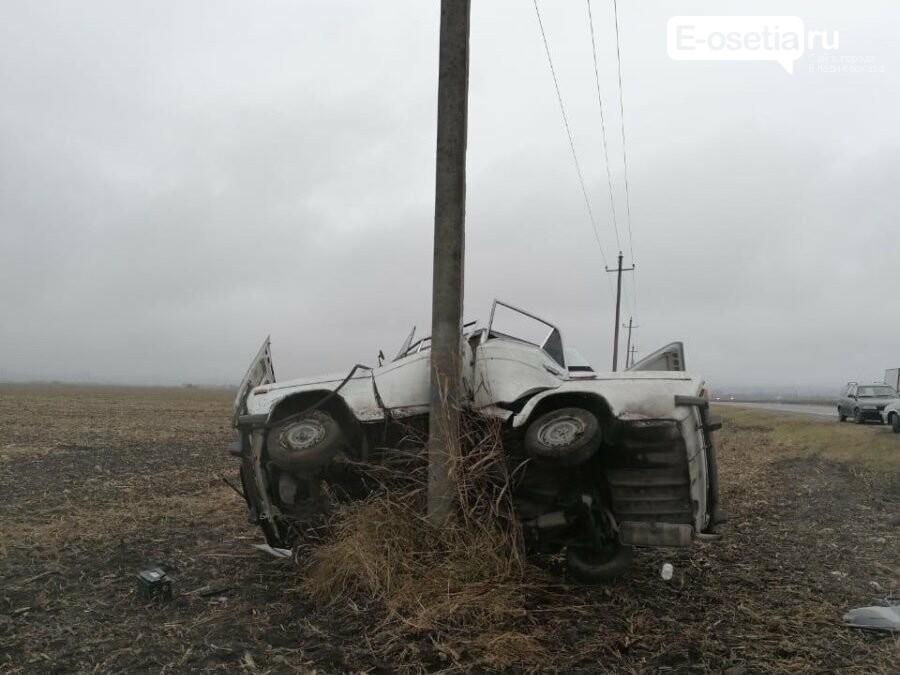 ДТП в Ардонском районе, В Ардонском районе в ДТП пострадали два человека