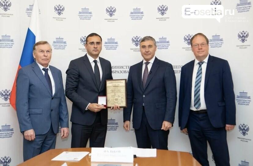 Алан Огоев ректор СОГУ, Алан Огоев признан лучшим ректором в СКФО