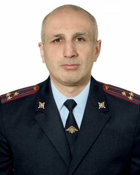 Георгий Басиев, назначен руководителем отдела ОМВД по Ардонскому району